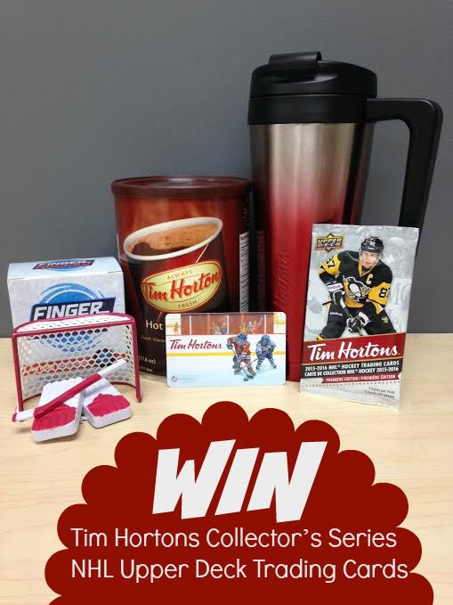 End Oct 27th: talesofarantingginger.com: Tim Hortons Collector's Series NHL Upper Deck Trading Cards-Giveaway (CAN)