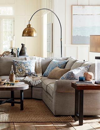 pottery barn living room furniture sets window curtains ideas for family