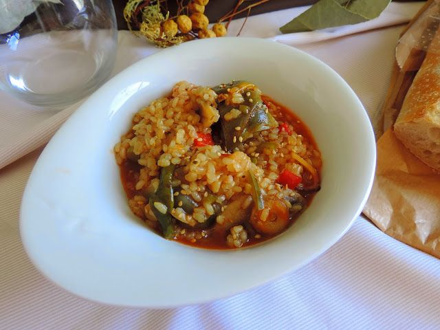 Arroz Integral con Verduritas #COOKEO   Cocinando con las Chachas