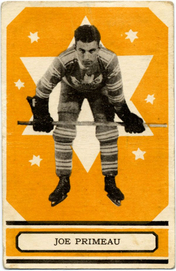 Joe Primeau hockey card   Toronto Maple Leafs   NHL   Hockey