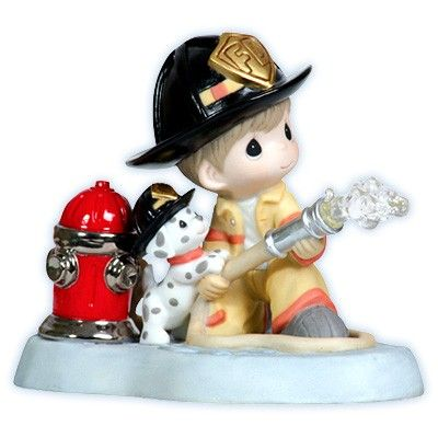 Precious Moment+firefighter | Home > Courage Under Fire