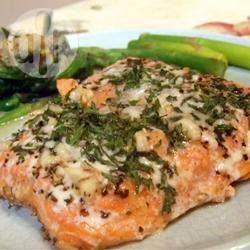 Filets de saumon au four @ allrecipes.fr