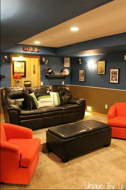 another option if limited on space -Theater Movie Room