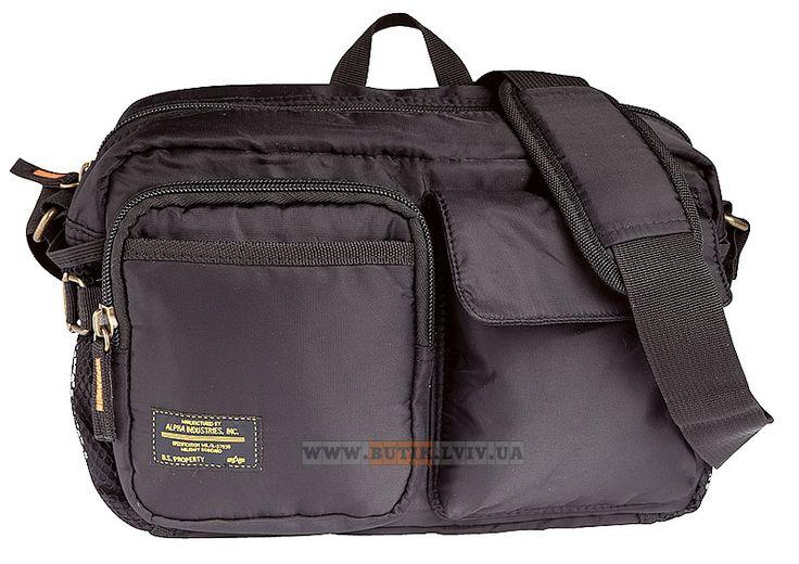 Сумка Multi-Purpose Bag Alpha Industries (чорна)  Наявність: під замовлення  Ціна: 29 $