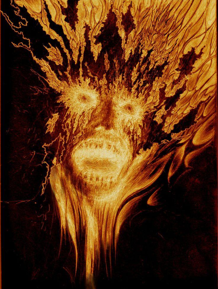 Perisan Angra Mainyu | Traditional Art / Drawings / Macabre & Horror ©2008-2013 ...