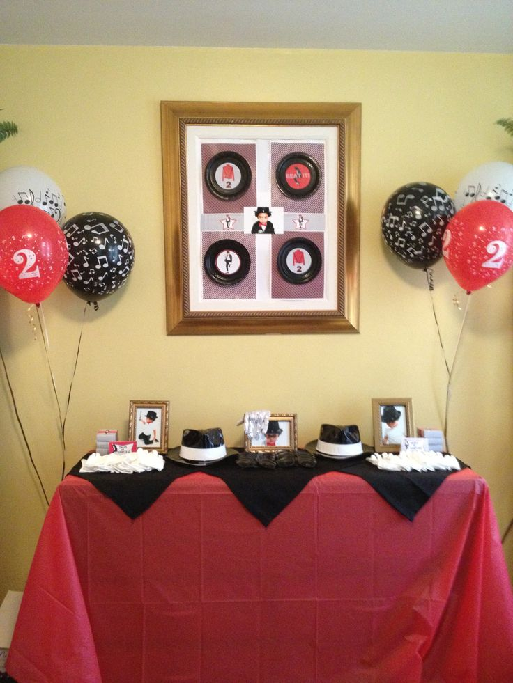2 Year Old Mj Party Decor