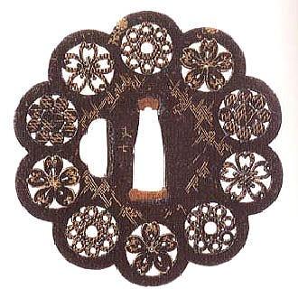 Tsuba   crochet