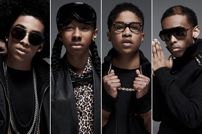Mindless Behavior - Princeton, Ray Ray, Roc Royal, and Prodigy <3