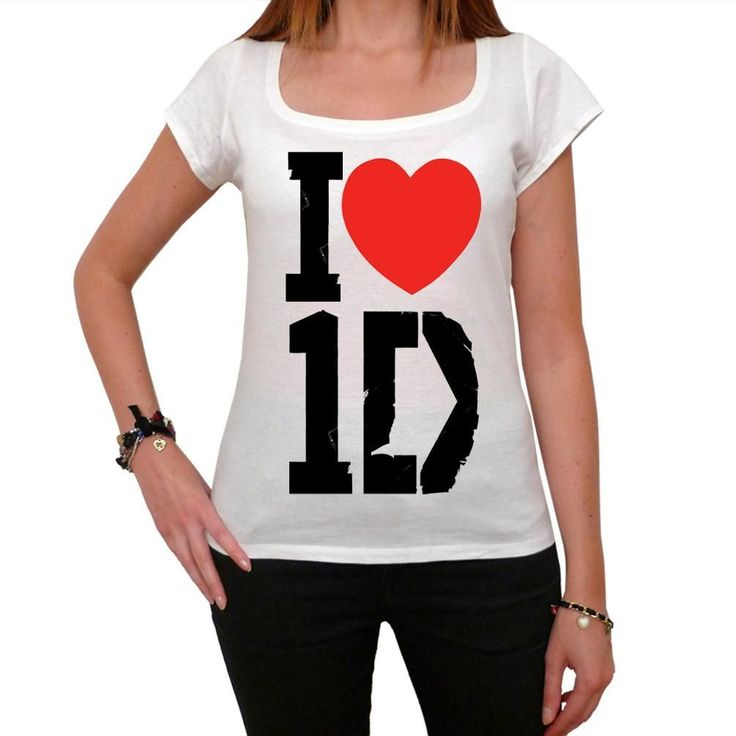 One Direction 1D I love I heart One Direction Tour Women's T-shirt picture celebrity