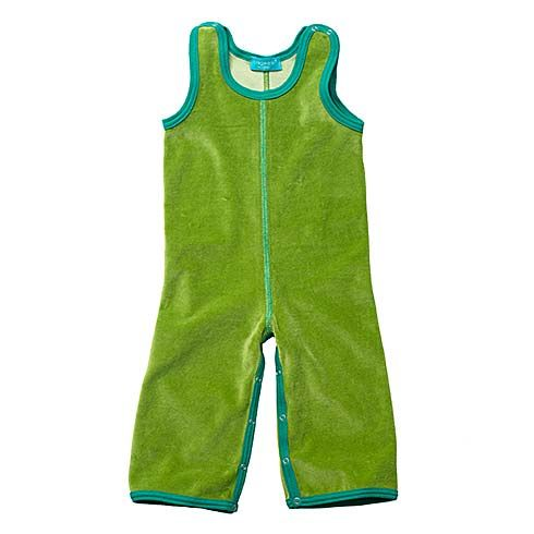 Overalls Velour Spinach by Tragwerk