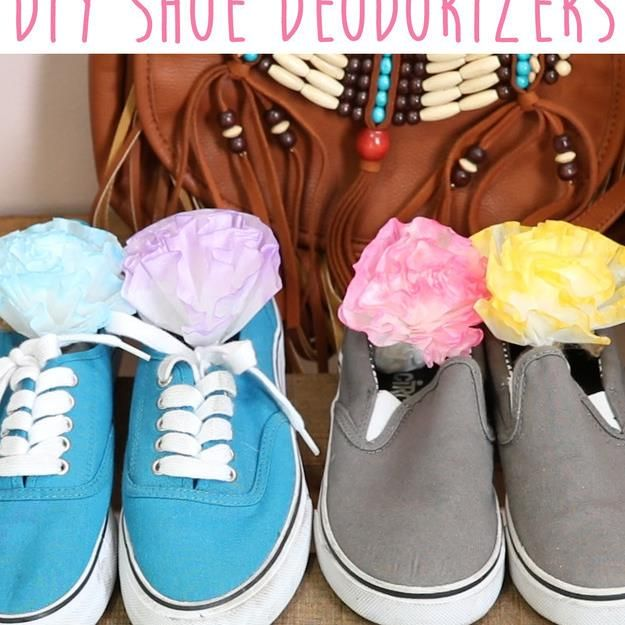 Never Have Smelly Shoes Again With These DIY Deodorizers