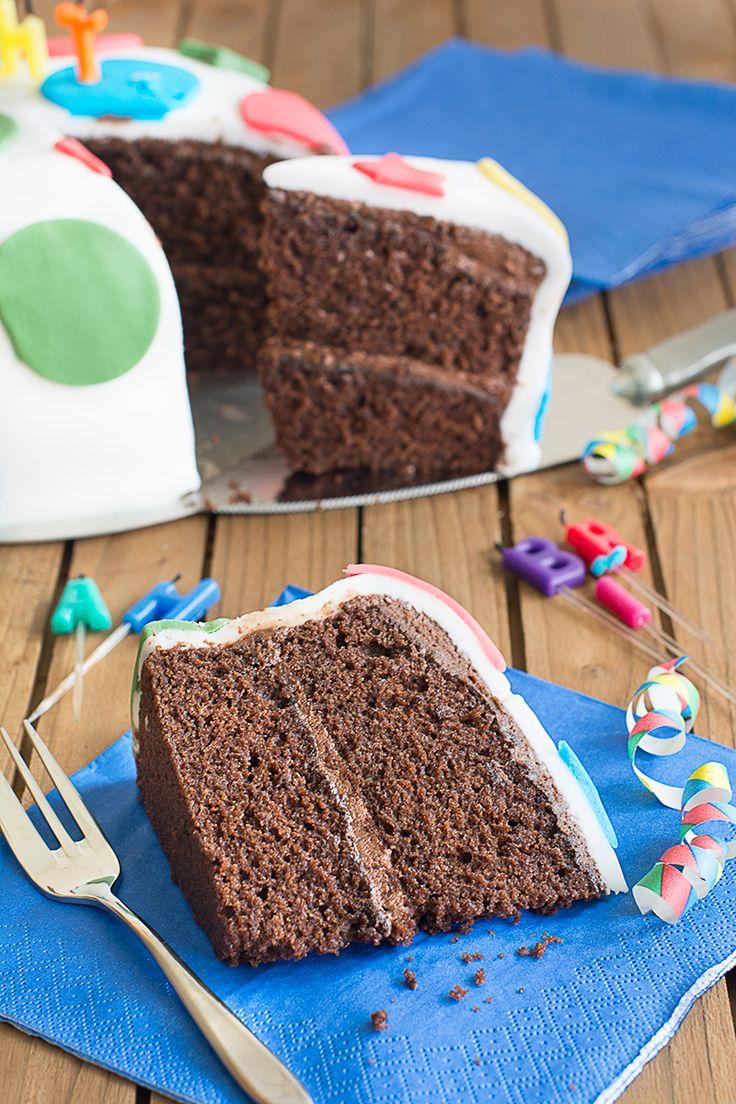 Chocolate Birthday Cake – Dan330