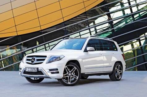 2013 Mercedes-Benz GLK 350 crossing the gap