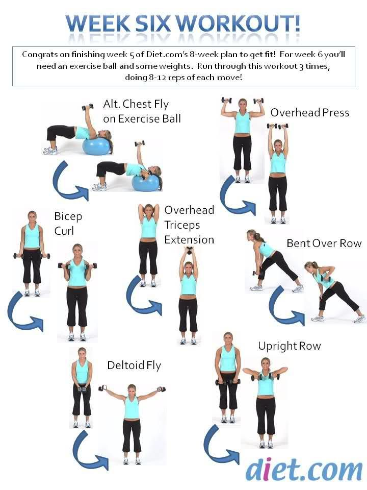 Week 6 workout assignment   SpringFitnessChallenge