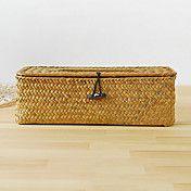 Nature Style Rentangular Cane Tissue Box – USD $ 19.99