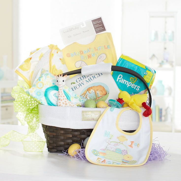 Las 25 mejores ideas sobre baby easter basket en pinterest celebrate babys first easter with sophie and this basket of love brueaster negle Gallery