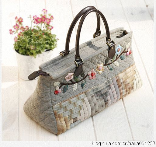 More cute quilted bag ideas
