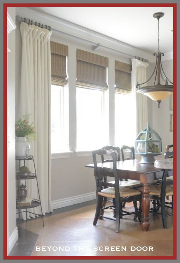 99 Reference Of Dining Room Decor Window Curtain Rods Dining Room Windows Window Treatments Living Room Living Room Windows