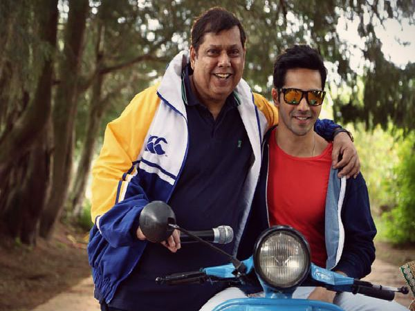 The reason why David Dhawan will ONLY work with son Varun Dhawan
