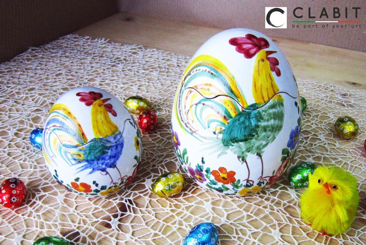 #Easter #Abruzzo #Pasqua #fioraccio #flowers #ceramic #handmade  #fiori #flowers #gallo #cock