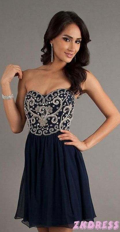 homecoming dresses homecoming dresses-love the top wish it was long