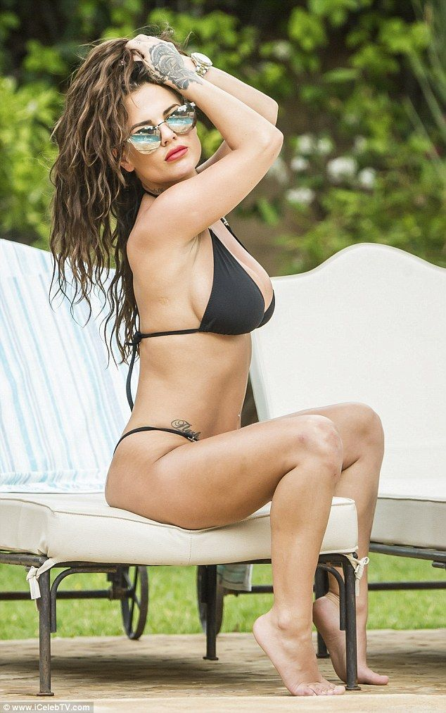 Eye-popping: Chantelle Connelly posed up a storm in a seriously saucy solo photoshoot in M...