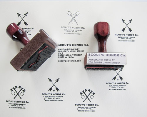 Archery custom rubber stamps