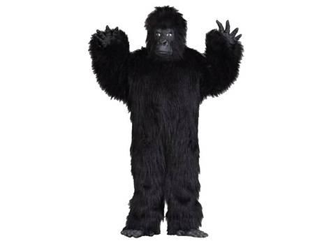Super Deluxe Gorilla Suit  Includes: Mask, gloves & body suit