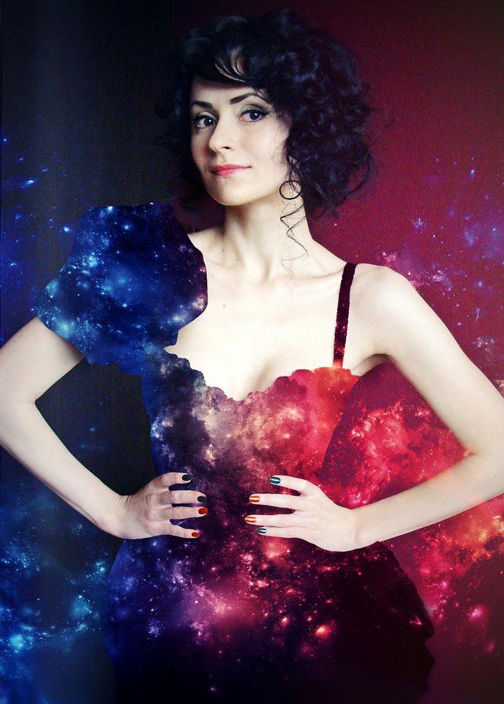 Cosmic dress. #cosmic