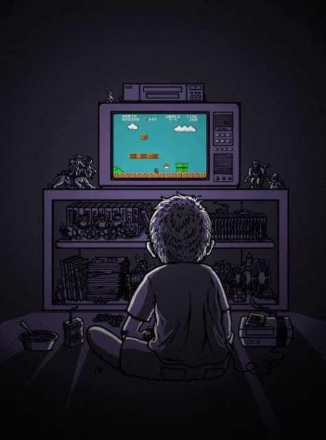 Nintendo...My son's childhood, In a nutshell. See More at https://www.facebook.com/iloveoldschoolgames