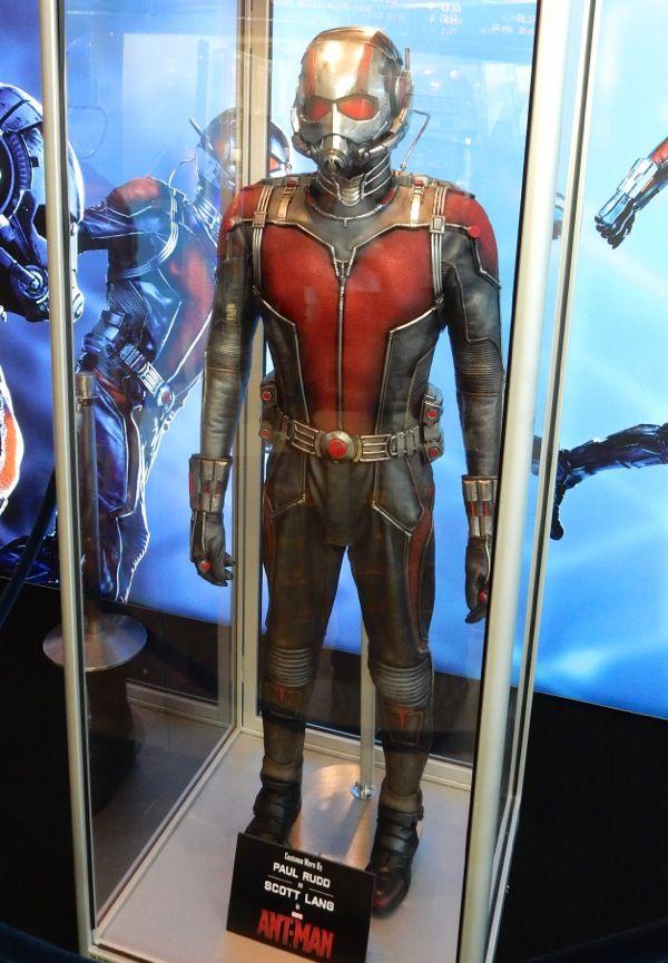 Original Paul Rudd Ant-Man movie costume   Movie costumes ...