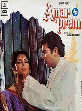 Amar Prem Hindi Movie Online - Sharmila Tagore, Rajesh Khanna, Vinod Mehra, Abhi Bhattacharya, Madan Puri, Bindu and Farida Jalal. Directed by Shakti Samanta. Music by Rahul Dev Burman. 1972 [U] ENGLISH SUBTITLE