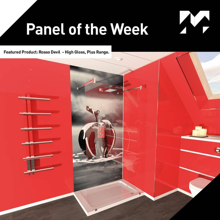 Panel of the Week! This week our featured #paneloftheweek is our Rosso Devil panel from our High Gloss, Plus Range.