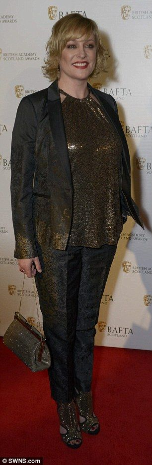 Here come the girls: TV presenter Lorraine Kelly and EastEnders star Laurie Brett made sty...