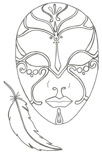 Ungewöhnlich Gesichtsmaske Vorlage Ideen - Beispiel Anschreiben für ...