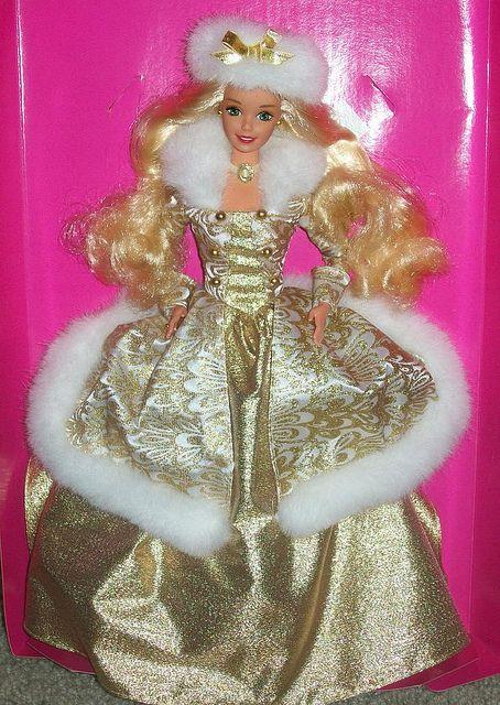 1995 Winter Fantasy Barbie by StanleytheBarbieman, via Flickr