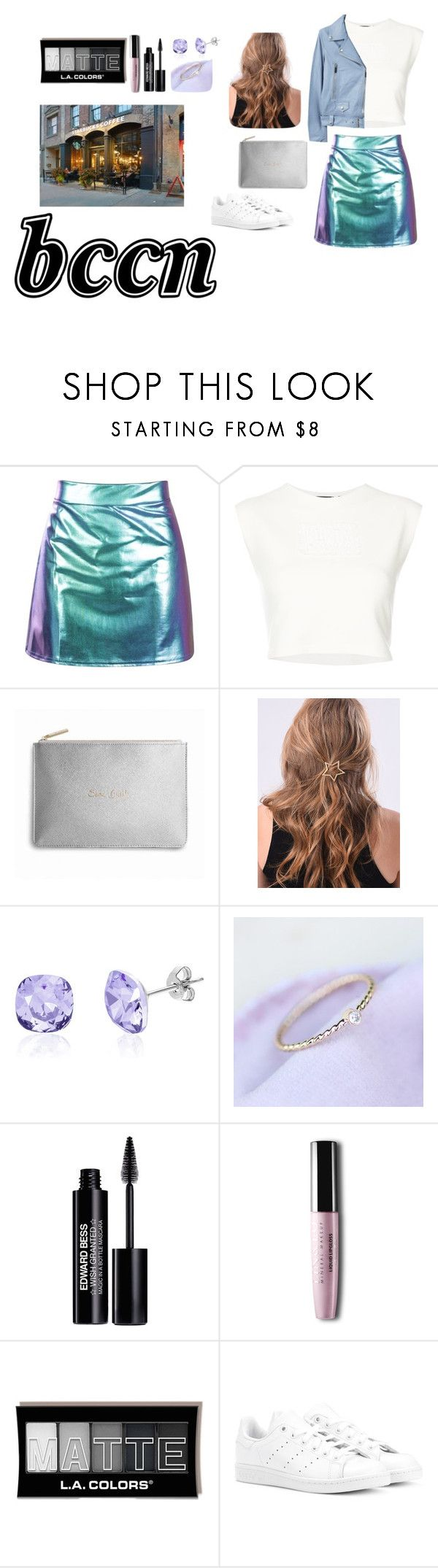 """""""OUTFIT"""" by beyzaa-c on Polyvore featuring moda, Puma, WithChic, Edward Bess, adidas Originals ve MANGO"""