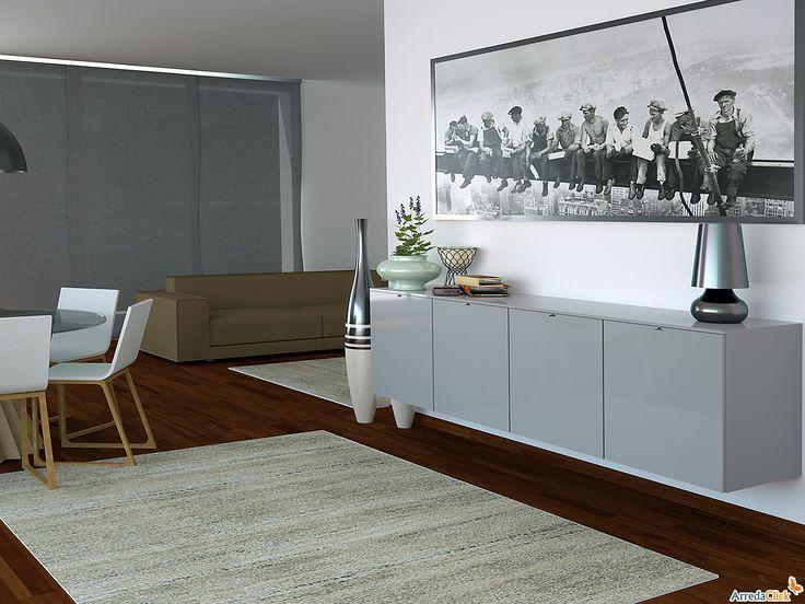 buffet suspendu laqu plan arredaclick meubles pinterest suspendu plans et manger. Black Bedroom Furniture Sets. Home Design Ideas