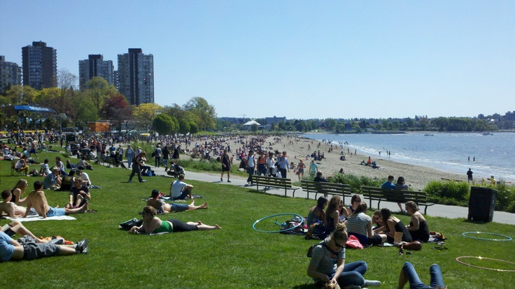 English Bay in May, Vancouver