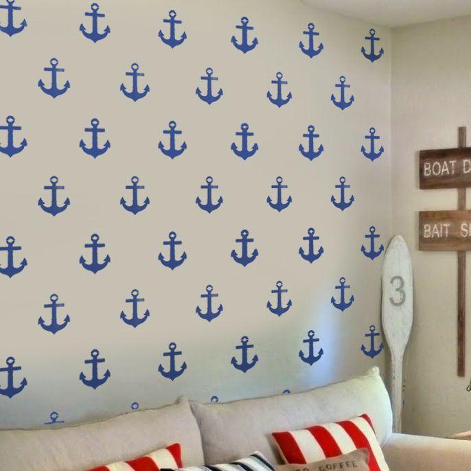 10 best nautical stencils images on pinterest painting stencils