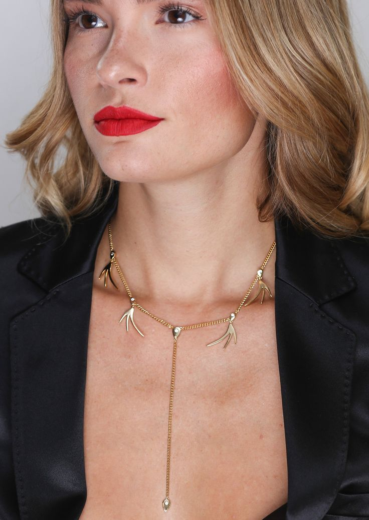 1d16878f6df8a Jules Smith Necklaces | Spark Lariat Choker | Let the sparks fly ...