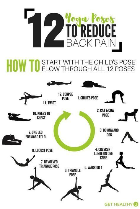 stretches to cure back pain