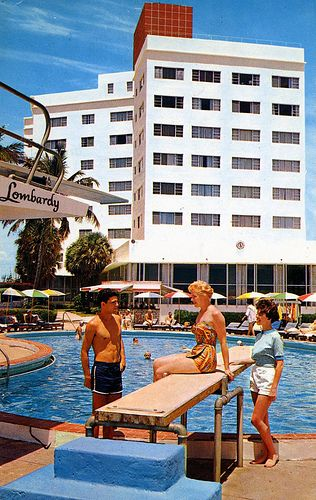 Lombardy Hotel Pool Miami Beach FL |