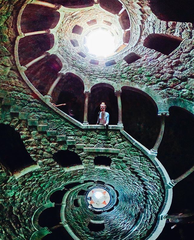 Quinta da Regaleira is considered one of the most enigmatic and mysterious places in Portugal. Each grotto or cave keeps a lot of puzzles which historians from around the world are trying to resolve. According to one of legends, in the well of Dedication which has depth of 27 meters resembling an inverted tower, masons conducted the ceremonies of initiation. Traditionally, the ceremony ended at the bottom of the well where there is an eight-pointed star. Spiral staircase with a wonderful…
