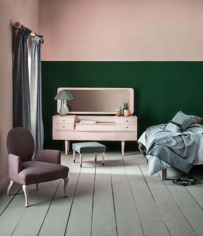 schlafzimmer 1001 Ideen für Bilder für Wandfarbe Altrosa die modern und stylisch sind in 2020 ...