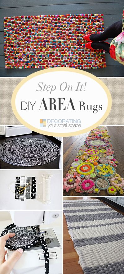 DIY Area Rugs • Lots of Ideas, Projects & Tutorials!