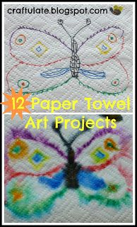 Craftulate: 12 Paper Towel Art Projects