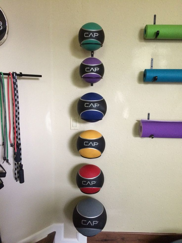 Best ball storage ideas on pinterest garage