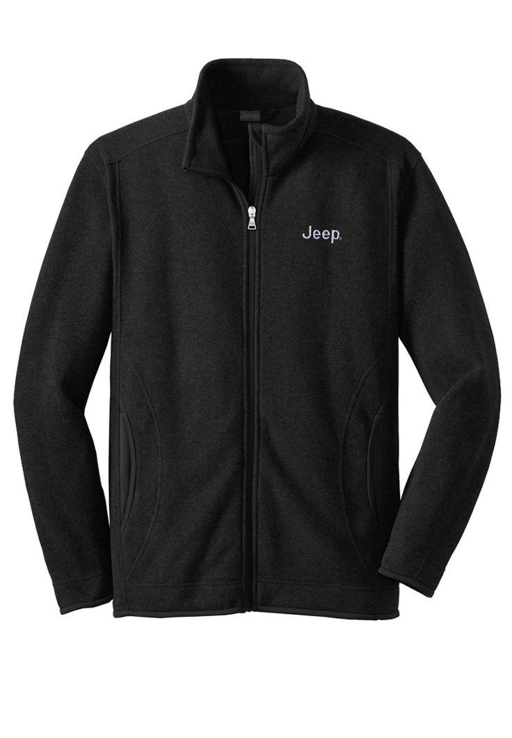 Jeep Gear: Product'Men's Fleece Full-Zip Jacket' | gift ...