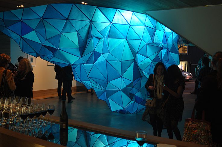 Gabby O'Connor iceberg sculpture